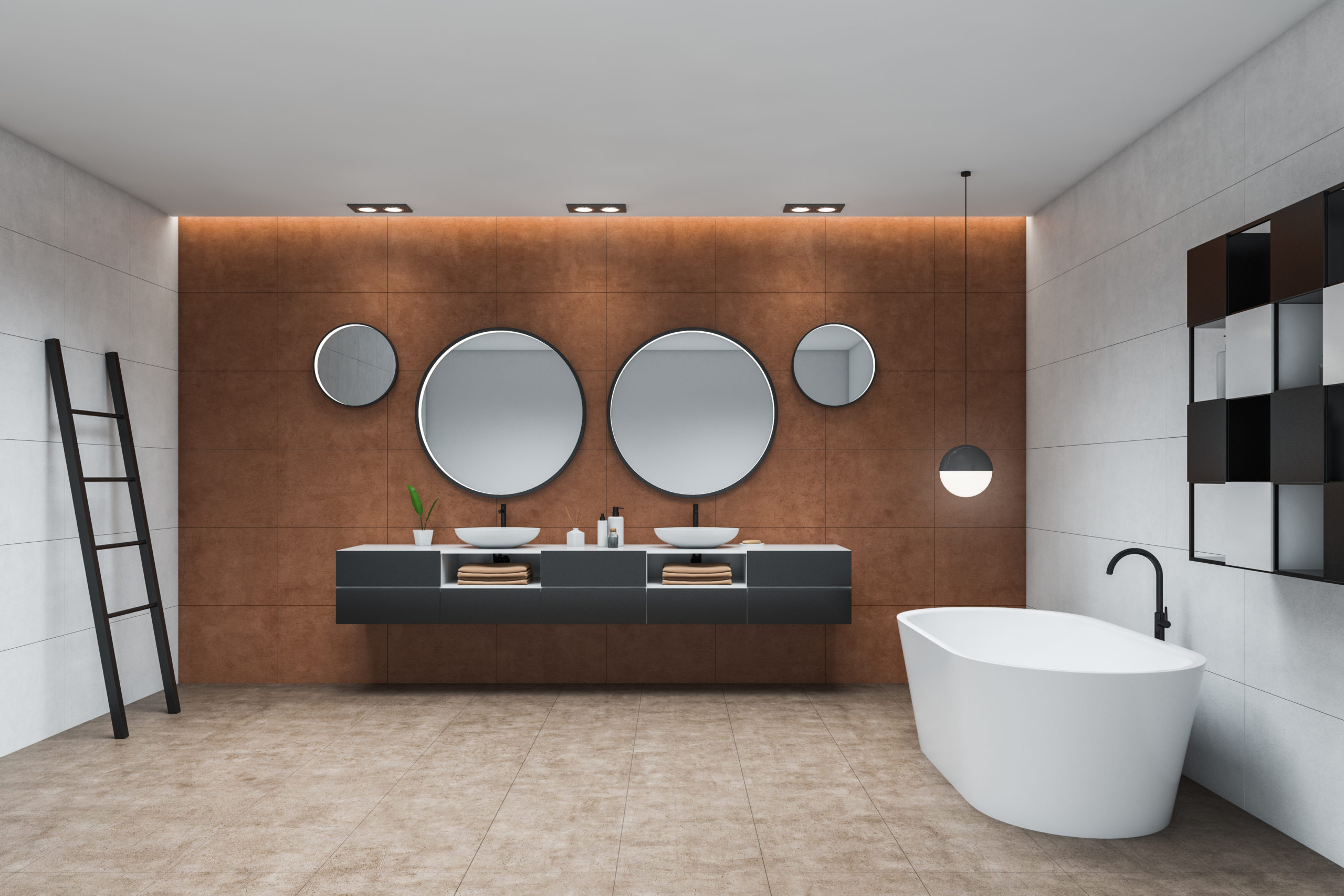 Create an at-home spa with bathroom renovations