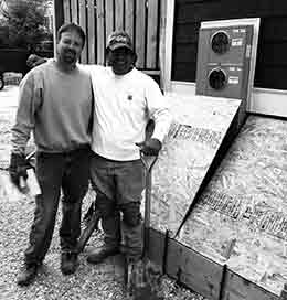 Team Ricky and Shaquille Carpentry